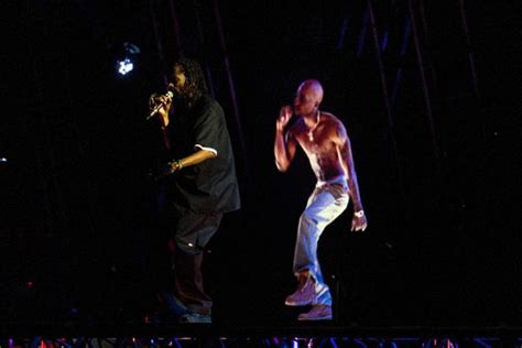 tupac at coachella rapper comes alive via hologram to tupac hologram click for full coachella 2012 coverage