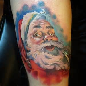 santa claus tattoo ideas tattoo designs