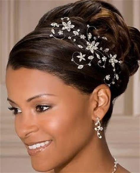 Black Wedding Hairstyles 2012 by Bridal Hairstyles Black For Hiar With Veil Half