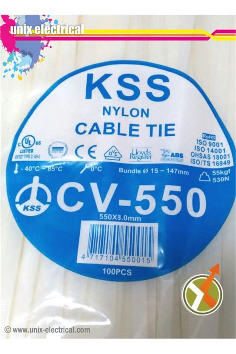 Kabel Ties Cv150 Merk Kss cable ties cv 550 kss