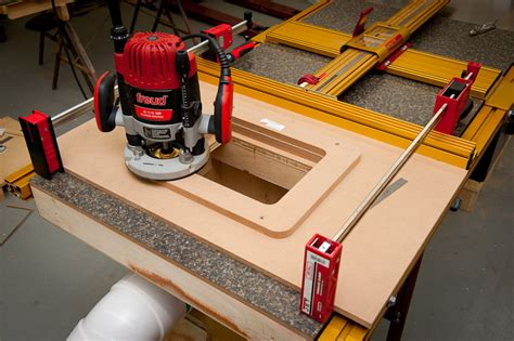router table insert harbor freight extension router table