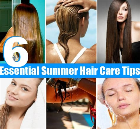 essential hair care tips for every type of hair 6 essential summer hair care tips diy home things
