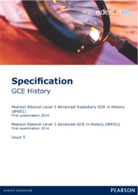 edexcel a level history 1447985443 edexcel a level history pearson qualifications