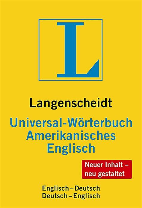 Rechnung Amerikanisches Englisch Langenscheidt Universal W 246 Rterbuch Amerikanisches Englisch Buch Kaufen Jokers At