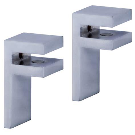 soportes estantes soportes para estantes de cristal autofix ref 16109982