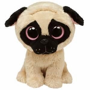 pugsly pug dog medium size ty beanie boos ty beanie boos