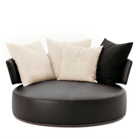 round swivel loveseat amoenus 170cm round swivel sofa by maxalto antonio citterio