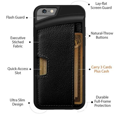 q card for iphone 6 by cm4 best slim wallet