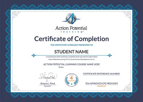 continuing education certificate template imts2010 info