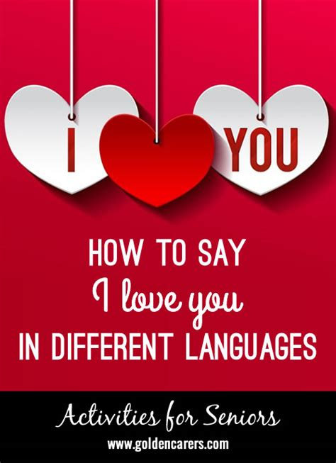 50 ways to say i you valentines day gifts for or valentines day gifts for him boyfriend or husband books i you in different languages