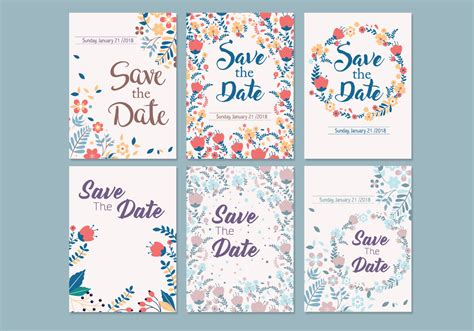 free wedding save the date templates wedding save the date template vector free
