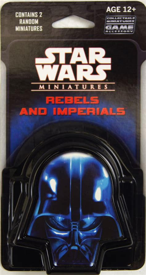 star wars miniatures rebels imperials  booster pack  figurines