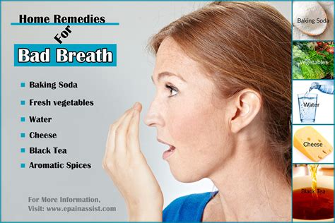 bad breath treatment home remedies prevention