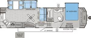 5th wheel floor plans submited images keystone springdale travel trailer chilhowee rv center