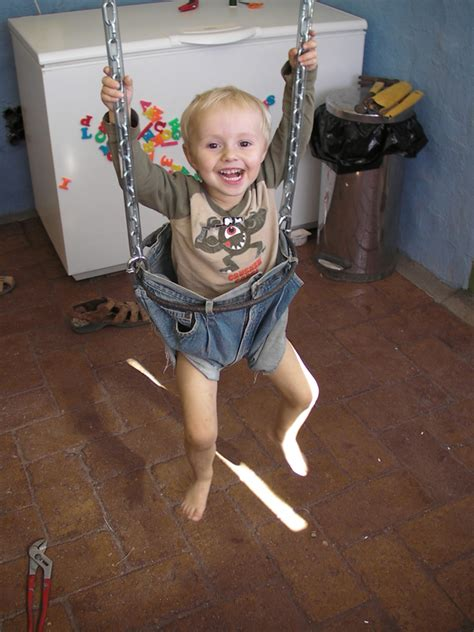 swing guys make a swing for your toddlers