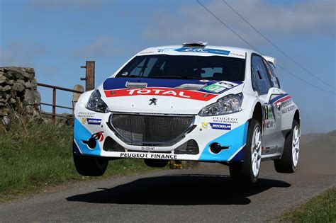 circuit of ireland rally victory credit fia european rally fia european rally championship erc 2015 peugeot sport