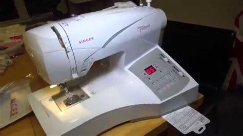 Mesin Jahit Singer Futura Ce 250 singer quantum futura embroidery sewing machine ce 200