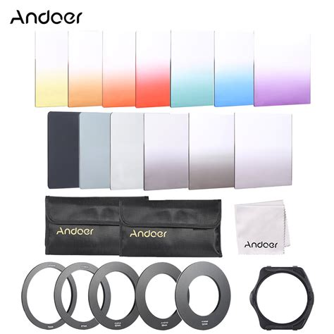 Filter Wallet Dapat Muat 6 Pcs Filter andoer 13pcs square gradient color filter kit for cokin p series with filter holder adapter