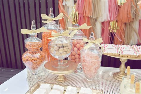 coral colored table ls gold and coral wedding themes whimsical wedding