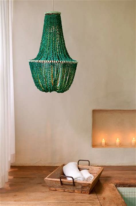 chandeliers beaded chandelier and green on