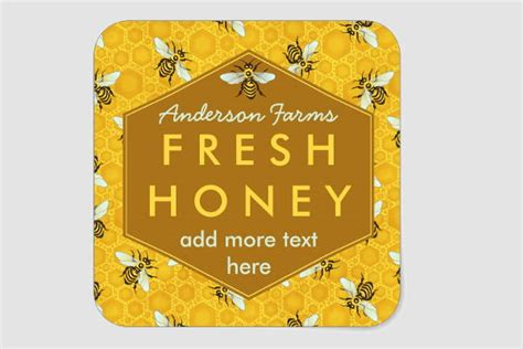 8 Honey Jar Label Templates Free Printable Psd Word Pdf Format Download Free Premium Honey Jar Labels Template