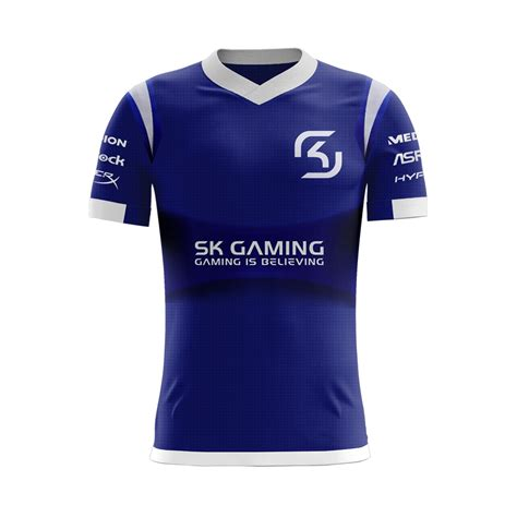 Jersey Gaming Cloud9 2016 esports chionship series official sk gaming team logo