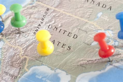 usa travel map with pins maps update 33162120 us travel map states usa map