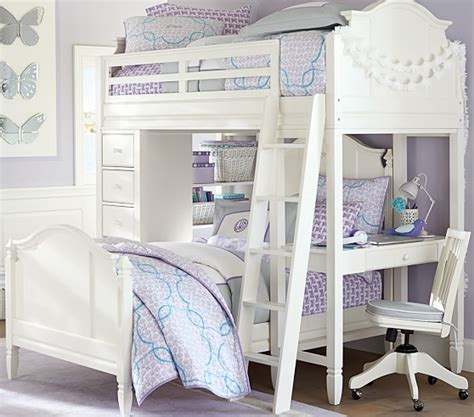 pottery barn kids loft bed madeline bunk system with twin bed set pottery barn kids