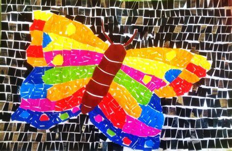 Lukisan Kertas Atau Mosaik gema pendidikan pengertian mozaik montase kolase