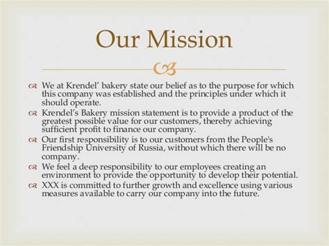 business plan format bakery business plan krendel bakery