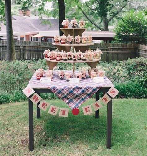 backyard baby shower adorable and fun summer backyard baby shower kidsomania