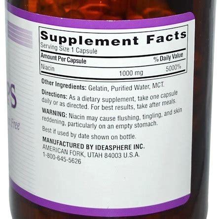 Does Flush Free Niacin Detox Thc by Niacin Flush Pills Test Www Pixshark Images