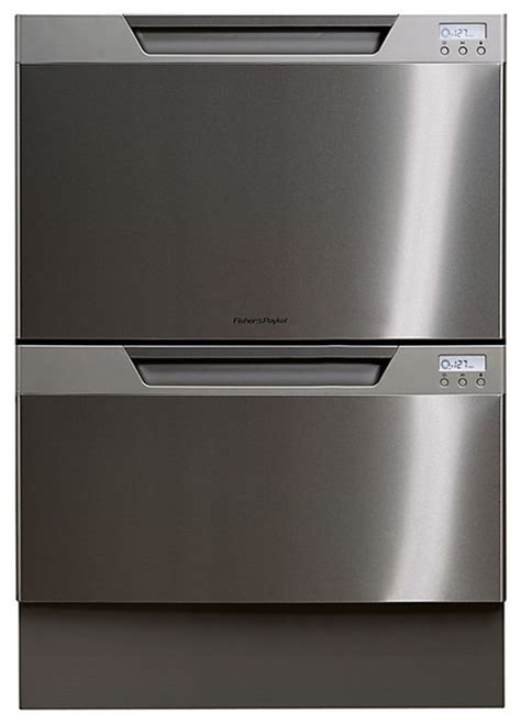 fisher paykel double drawer dishwasher installation fisher paykel built in double dishdrawer dishwasher