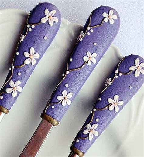 unique cutlery purple cutlery sets unique flatware elegant wedding gift