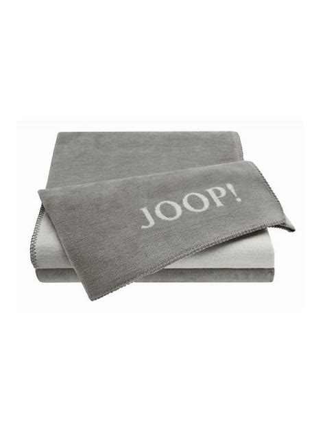 joop decke grau joop wohndecke 150x200cm graphit grau grau