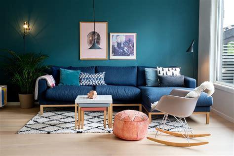 ideas  blue wall colour  home decoration alizs