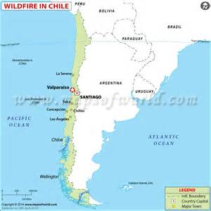 chile location on world map chile wildfire left 12 dead and 2 000 homes consumed april 14 2014 world news