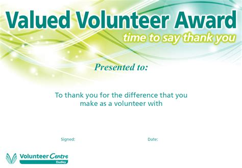 say thank you in style and free of charge volunteering