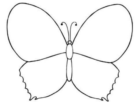 mewarnai gambar kupu kupu sederhana warnagambar