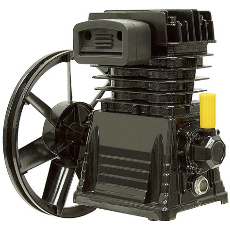 cfm  cylinder air compressor pump single stage  hp