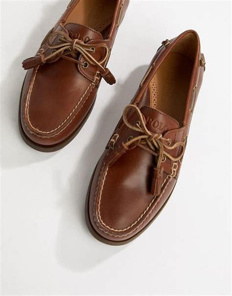 polo ralph lauren merton boat shoes polo ralph lauren polo ralph lauren merton leather boat