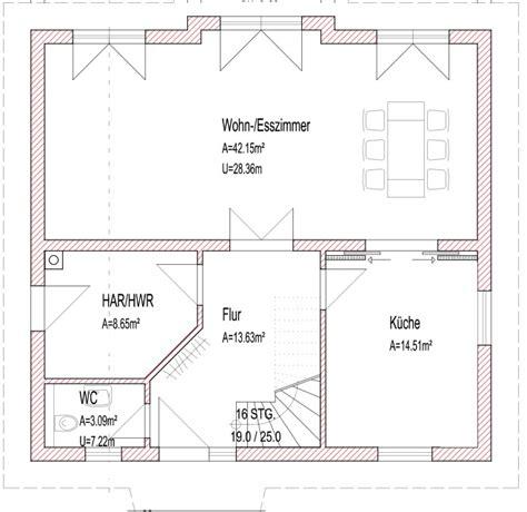 Haus Ohne Keller Grundriss by Grundriss F 252 R Einfamilienhaus Moderner Hausbau Ohne