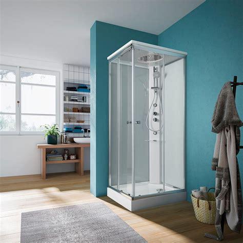 glass box doccia cabina doccia completa 75 x 140