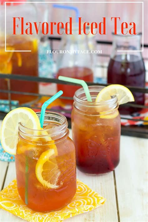 fruit tea recipe iced tea recipe flour on my