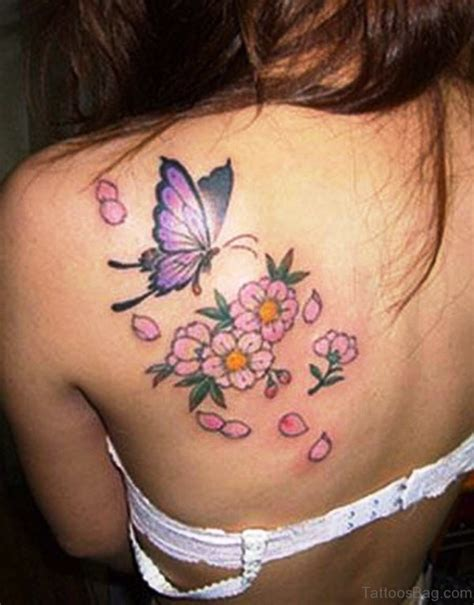 Flower Shoulder by 67 Adorable Flowers Tattoos On Shoulder
