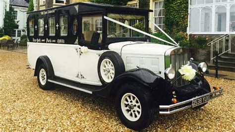 Wedding Car Wales vintage asquith wedding car hire brecon south wales and