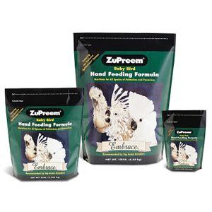 Zupreem Embrace Feeding Formula zupreem embrace feeding formula 10 lb vetdepot