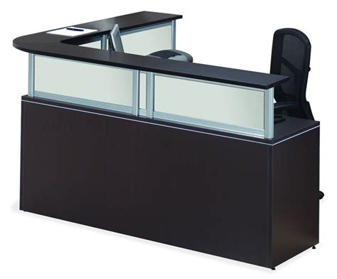 Office Receptionist Desk Office Source Borders Ii Series L Shape Receptionist Desk