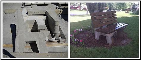 precast concrete bench ends concrete slabs splash blocks benches king of prussia pa