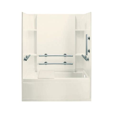 sterling accord bath shower sterling accord 32 in x 60 in x 74 in bath and shower